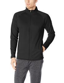 Champion Men's Performance Fleece Full-zip Jacket, Black/
