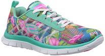 Skechers Flex Appeal Floral Bloom Womens Sneakers Aqua/Multi