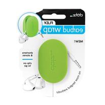 Dotz Flex Earbud Wrap for Cord and Cable Management, Lime