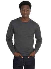 American Apparel Men's Flex Fleece Crew Neck Pullover Drop