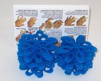 FlexEx Hand Exerciser - 40 Pack Blue - Hard Resistance, Made