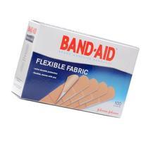 Flexible Fabric Premium Adhesive Bandages 3/4 x 3 100/Box