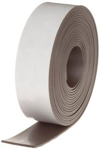 "Flexible Magnet Tape - 1/16"" thick x 1"" wide x 10 feet"