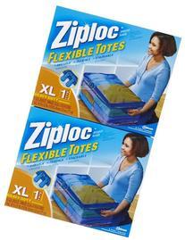Ziploc Flexible Totes, -2 pk