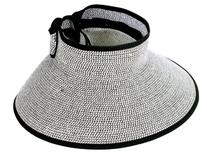 New Summer Womens Foldable Hat Sun Visor Straw Cap