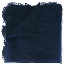 Faliero Sarti - floral embroidered scarf - women - Silk/