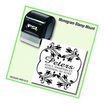 Floral or Flower Style Return Address Stamp | Wedding Stamp