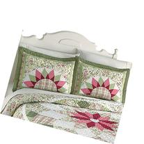 Floral Patchwork Darcy Star Pillow Sham, Cotton,Polyester