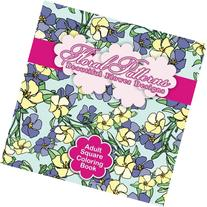 Floral Patterns Beautiful Flower Designs Adult Square