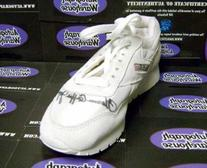 Florence Griffith Joyner autographed Sneaker