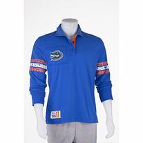 Men's Florida Gators Collar Scholar Long Sleeve Rugby Shirt