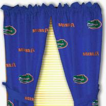 "College Covers Florida Gators Printed Curtain Panels, 42"" x"