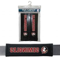NCAA Florida State Velour Seat Belt Pads