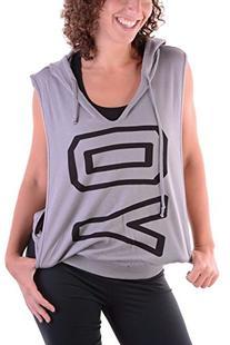 Miken Flow Open Sided Sweatshirt Yoga Grey
