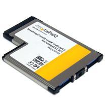 StarTech.com 2-Port Flush Mount ExpressCard 54mm SuperSpeed