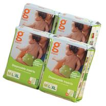 gDiapers Disposable Inserts Flushable Refills Medium/Large