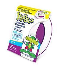 Kandoo Flushable Wipes Sensitive 50 Ct