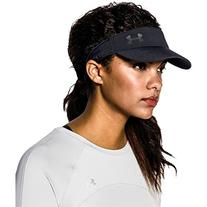 Under Armour Women's Fly Fast Visor, Black/Black, One Size