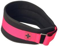 Harbinger Women's Nylon Weightlifting Belt with Flexible
