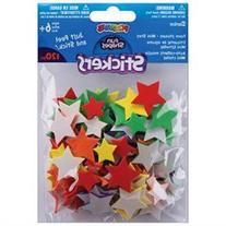 Foam Stickers 120/Pkg-Mini Stars