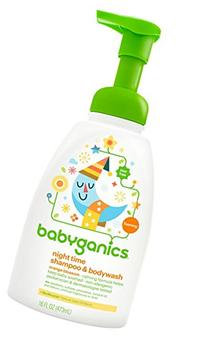 BabyGanics Foamin' Fun Night Time  Shampoo & Bodywash,