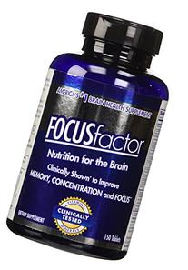 FOCUSfactor Dietary Supplement 150 Tablets, America's #1