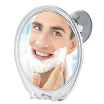 3X Magnifying Fogless Shower Mirror, with Razor Hook for Fog