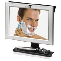 Fogless Shower Mirror with Squeegee by ToiletTree Products.