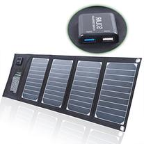SUNKINGDOM™ 20W 2-Port USB Solar Charger with High-
