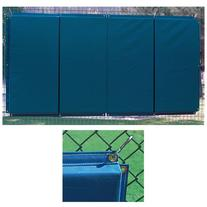 Folding Backstop Padding 3W x 12L'/Black
