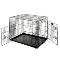Pet Trex 2201 30 Inch Dog Crate with Divider Folding Pet