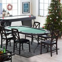 Fat Cat Folding Poker Table