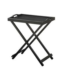 Convenience Concepts Designs2Go Folding Tray Table, Black