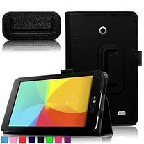 Infiland Folio PU Leather Case Smart Fit Cover For 7inch LG