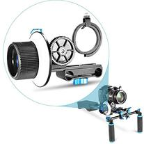 Neewer® Follow Focus with Adjustbale Gear Ring Belt for