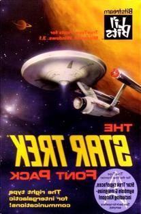 The Star Trek Font Pack