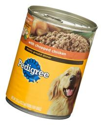 Pedigree with Chopped Chicken Food for Dogs, 13.2 oz
