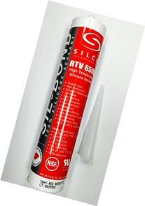 Food Grade NSF FDA RTV Silicone Sealant Adhesive Red High