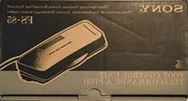 New Sony FS-85 Dictation Transcription Pedal W/Cable, Manual