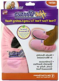 Hot Booties Foot Warmers,Pink