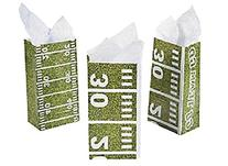 Football Field Treat Bags Party Supplies/Tailgating/