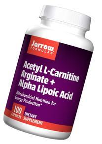 Jarrow Formulas - Acetyl L-Carnitine Arginate +Ala, 100