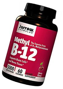 Jarrow Formulas - Methyl B-12 5000 Mcg, 5000 mcg, 60