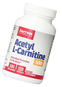 Jarrow Formulas Acetyl L-Carnitine 500 mg, Supports