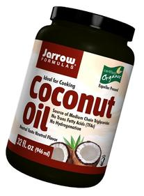 Jarrow Formulas 100% Organic Coconut Oil, 32 Ounce