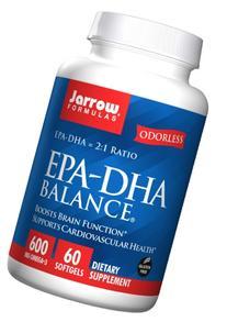 Jarrow Formulas EPA-DHA Balance, 60 Capsules
