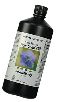 Jarrow Formulas Flaxseed Oil, Plant Based Source of Omega-3,