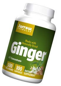 Jarrow Formulas Ginger, Supports Gastroinestinal Health, 500