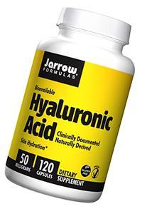 Jarrow Formulas Hyaluronic Acid, Skin Hydration, 120 Veggie