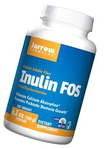 Jarrow Formulas Inulin FOS, Enhances Calcium Absorption, 180